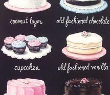 Inspiring picture buttercream, cake, chocolate, coconut