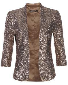 Rose gold blazer