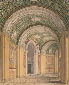 H.P. Berlage. Travel sketches from Italy. Villa di Papa Giulio, Rome, 1881. NAi Collection / BERL 290