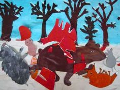 La moufle Maternelle Grande Section, Film D, Work Project, Mittens, Moose Art, Animation, Camille, School Stuff, Albums