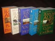 Clan of the cave bear books...I liked them!