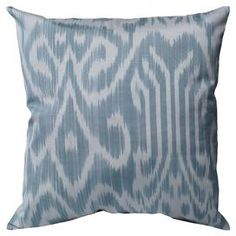 Add a lovely touch to your sofa or loveseat with this eye-catching cotton pillow, showcasing an abstract motif in grey.  Product: PillowConstruction Material: Cotton cover and polyester fillColor: GreyFeatures:  HandmadeInsert included