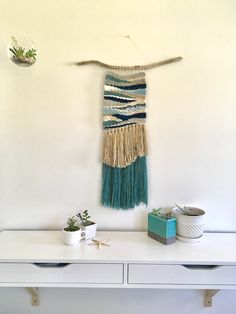 Weaving inspired by the sea. House of Woolly Thyme