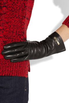 Burberry  Leather gloves