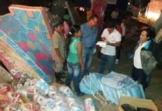 Familias indígenas de Santuario recibieron ayuda humanitaria