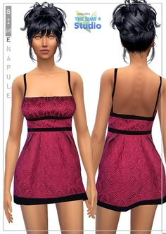 4 dresses at Simenapule via Sims 4 Updates