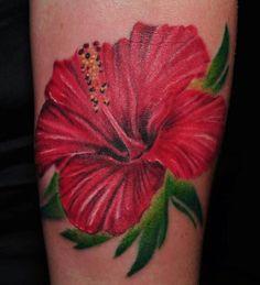 Flower #hawaiiantattoossleeve