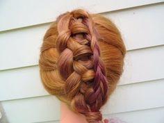 interwoven knot braid