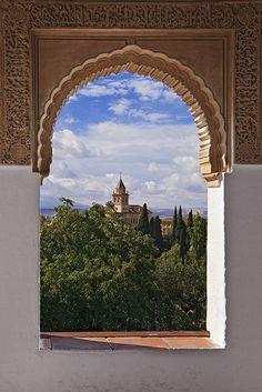 Granada. La Alhambra. Andalusia. Spain