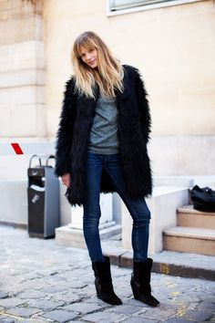 Fur is always a great way to shake things up a bit!