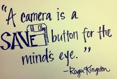 Discover and share Camera Quotes And Sayings. Explore our collection of motivational and famous quotes by authors you know and love. Photo Quotes, Picture Quotes, Art Quotes, Motivational Quotes, Life Quotes, Inspirational Quotes, Vision Quotes, Quotes Images, Typography Quotes