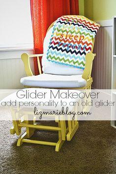 Nursery Glider Makeover
