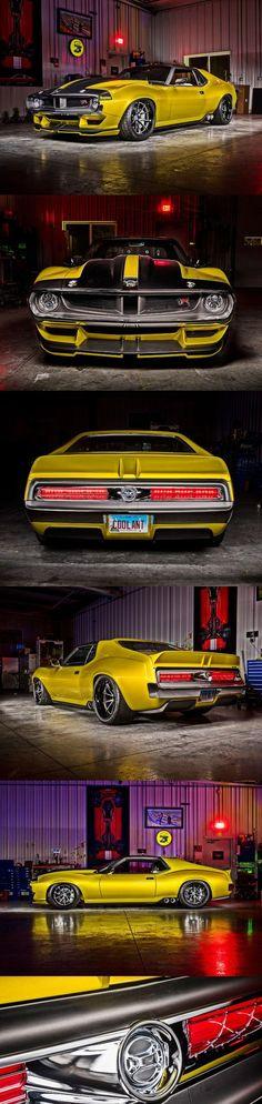 "8498002a9 the Prestone 1972 AMC Javelin AMX dubbed ""Defiant!  musclecars Amc Javelin"