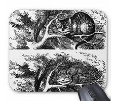 消え行くチェシャ猫のマウスパッド:フォトパッド(アリスシリーズ)