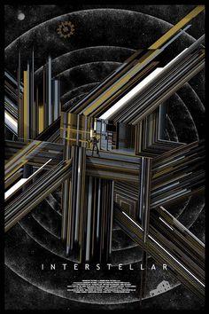 Interestelar Variante Pantalla impresión Cartel por Mondo artista Kilian Eng N. / 140 in Art, Prints, Contemporary (1980-Now), Limited Editions | eBay