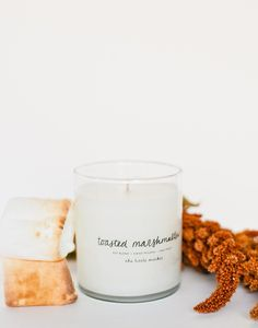 Toasted marshmallows aren't just for campfires. Stay cozy at home with this sweet and delicious candle.