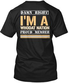 b4e365d9c New Orleans Saints, Tee Shirts, Fans, Promotion, Mens Tops, Gifts, T Shirts,  Presents, Tees