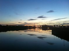 An evening in Glasgow