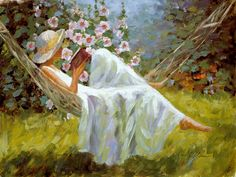 Image result for reading in a hammock images