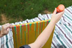 Drip Art DIY + Issue 7 Sneak Peek : Prairie Hive