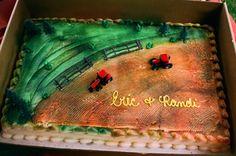 Case IH tractor cake