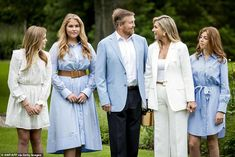 White Dress Summer, Summer Dresses, Wide Trousers, Wale, All White Outfit, White Suits, Queen Maxima, Nassau, Eindhoven