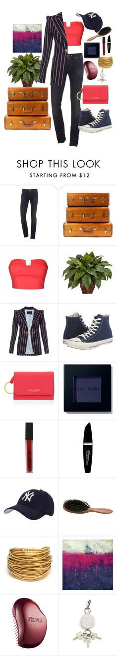 """""""Untitled #116"""" by loves-elephants ❤ liked on Polyvore featuring Jacob Cohёn, Samsonite, Ally Fashion, Nearly Natural, Marc Jacobs, Converse, Henri Bendel, Bobbi Brown Cosmetics, Smashbox and Max Factor"""