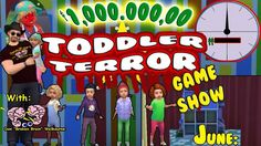 """""""Million Dollar Toddler Terror """"game play: .... YOU Create a sim upload with(#ToddlerTerrorContestant) and if your sim gets chosen they get to come on the show Shown a quick video of the last victim ... Then asked """"For $1.000.000.00  Will you ... """"Go Through That Door??!!"""" ... they say yes obviously and then they are asked how many hours they would like to be locked in for ($1000 PH) .. of course they are all greedy and want to play for the Full 24 h to win the million! ...Toddlers compete…"""