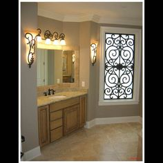 The use of decorative/ornamental iron designs is simplified with Tableaux® faux wrought. Description from wroughtiron-designs.com. I searched for this on bing.com/images