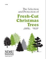 The use of fresh-cut evergreen trees for the Christmas holidays bring both a pleaure and uniqueness that no artificial tree could ever match. This publication will help you choose the right tree and provides safety tips to make your holiday an enjoyable one.
