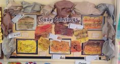 Stone Age cave paintings display @twinklresources
