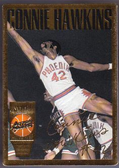 82bd72d33297 PHOENIX SUNS 1994 ACTION PACKED GREATS OF THE GAME CONNIE HAWKINS NMMT   PhoenixSuns