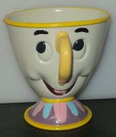 CHIP CUP From Beauty & the Beast Disney On Ice Plastic Mug - This Item is for sale at LB General Store http://stores.ebay.com/LB-General-Store
