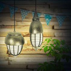 Gartenleuchten aus Messing / Garden lamps brass