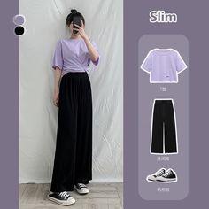 Korean Outfit Street Styles, Korean Fashion Dress, Blackpink Fashion, Ulzzang Fashion, Korean Street Fashion, Kpop Fashion Outfits, Edgy Outfits, Korean Outfits, Cute Casual Outfits