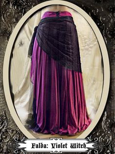 A Violet Witcht:  a magical skirt from Muriel Dal Bo to Sublime www.sublimstyle.com