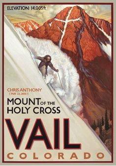 Two Sandwiches and Some Water: Skiing the Mount of the Holy Cross ...