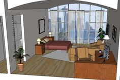 To utilize creativity to produce quality interior design & drawing, To satisfy customer's needs (home & commercial interior design) To discuss idea and coorperate with other designer or architect. Commercial Interior Design, Commercial Interiors, Google Sketchup, 3d Warehouse, 3d Max, Designs To Draw, Photoshop, 3d Modeling, Furniture
