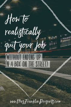 12 Best How To Quit Your Job Images Quitting Your Job Career