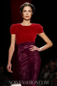 Carolina Herrera Ready To Wear Fall Winter 2013 New York