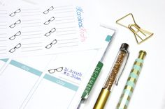 16 Eye Doctor Label Stickers Perfect for your by KarolinasKrafts