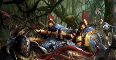 http://wellofeternitypl.blogspot.com Age of Sigmar Artwork | Stormcast Extremis…