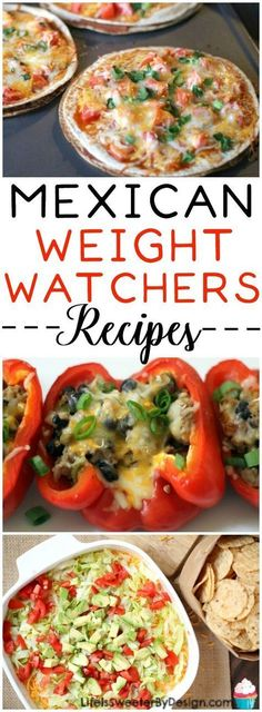 These Weight Watcher friendly Mexican inspired recipes will leave you guilt free! Low SmartPoints recipes that are delicious and packed with veggies for all the Beyond the Scale followers!