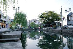 川と一体化したようなこの街は、かつて柳河藩として栄えた城下町だ。
