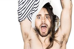 jaredleto. All men should be created in his image.  Yummy.