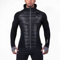 Mens Muscle Down Jacket