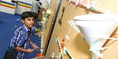 Belajar ilmu pengetahuan dengan menyenangkan tanpa memaksa anak untuk belajar. Buruan ke science singapore #SGTravelBuddy