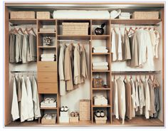 Fitted Bedroom - Shelving layout