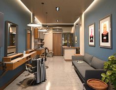 """Check out new work on my @Behance portfolio: """"Barbershop"""" http://be.net/gallery/36965205/Barbershop"""