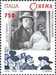 """1996 - """"Il Cinema Italiano"""": Aldo Fabrizi in """"Prima Comunione"""" - film del 1950 diretto da Alessandro Blasetti"""